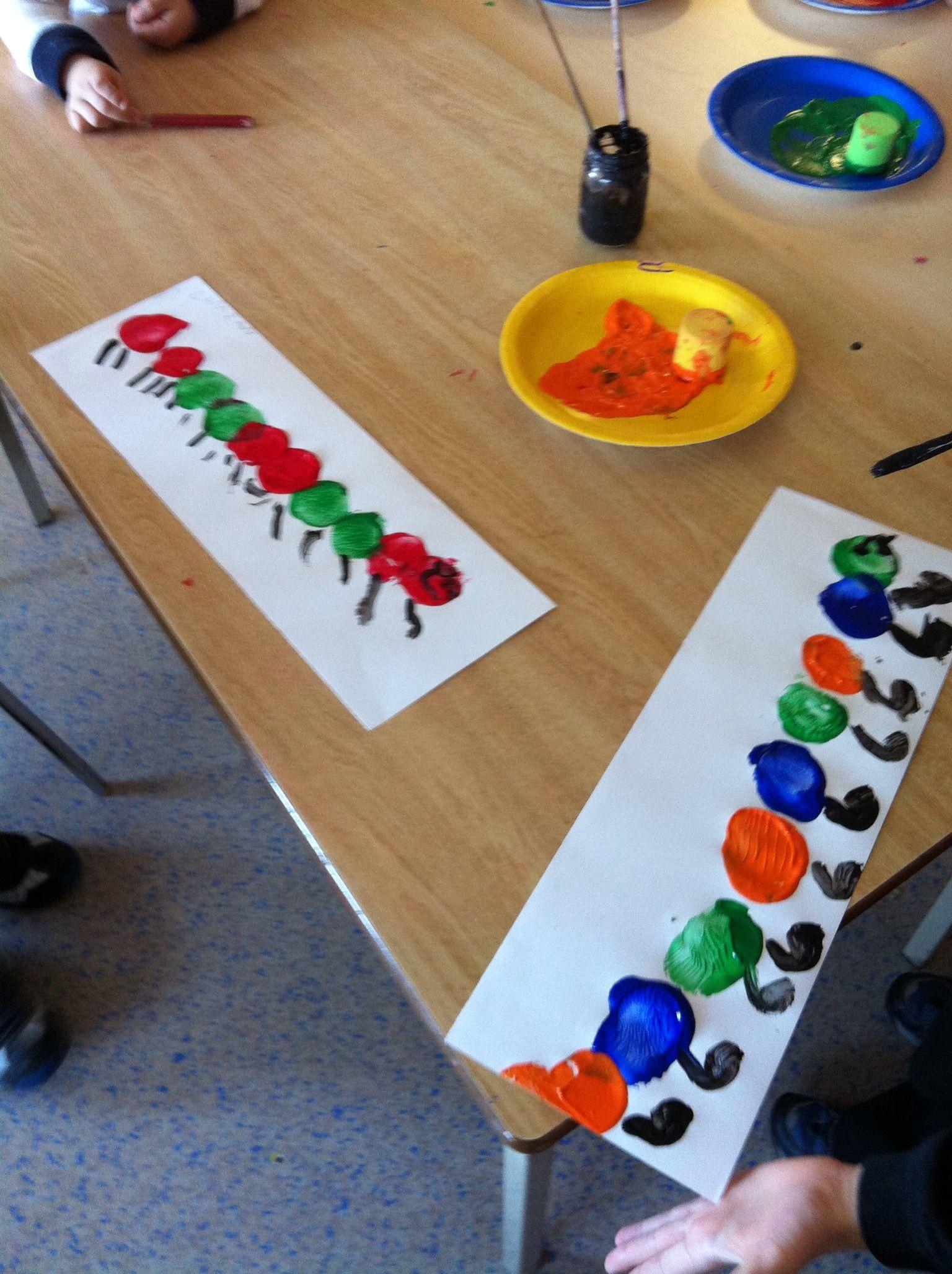 Pattern Math Caterpillar Theme