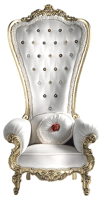 Transparent Elegant White Ornate Chait Png Picture King
