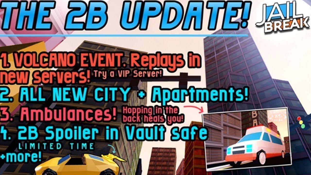 Jailbreak Update All New City Gameplay Walkthrough Part 1