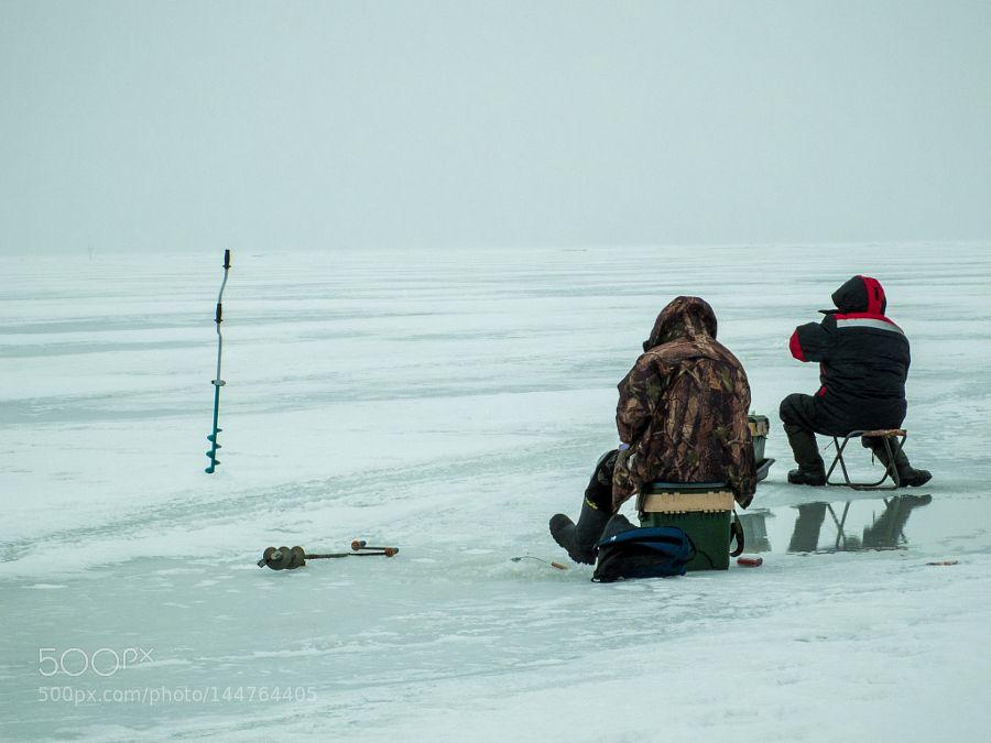 Ice fishing in Russia by ganchar7 Ice fishing, Russia