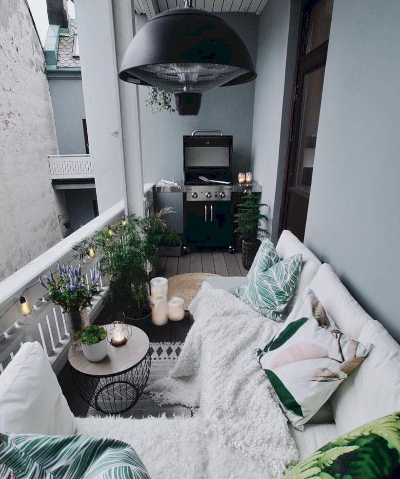 39 Scandinavian Balcony Designs For