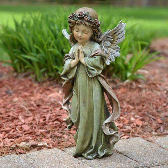 Small Angel Statues For Graves: Pin By Tonee (Ariel) Gwinn On °• ANGELIC Realm •°