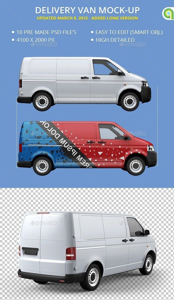 40 best van mockup psd for delivery vans branding