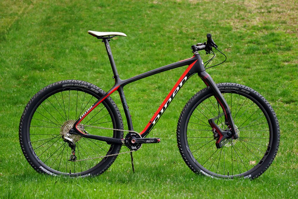 Project XC Race Rocket Frame & Fork intro Niner AIR9
