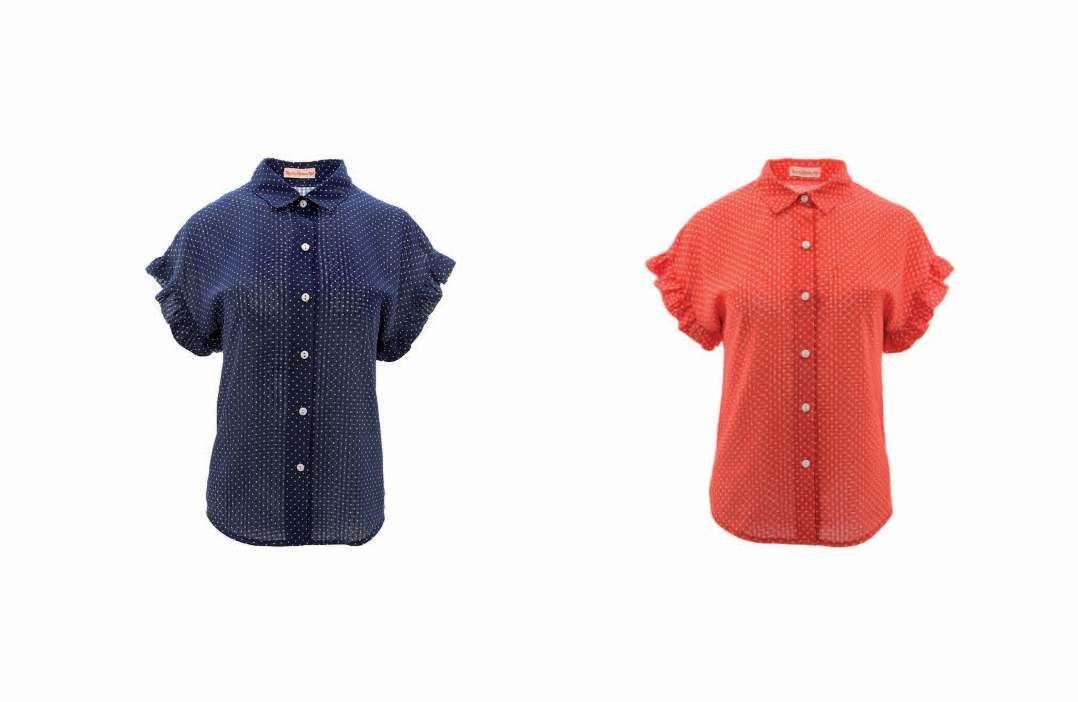 Camisas CACTUS AZUL y ROJO www.trakabarraka.com