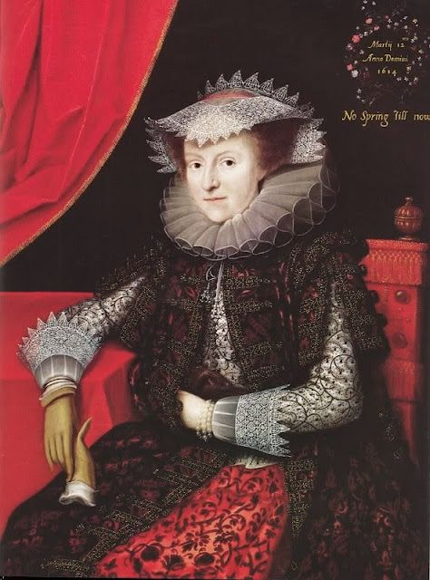 Mary Thockmorton, Lady Scudmore (d 1632) by Marcus Gheerarts the younger