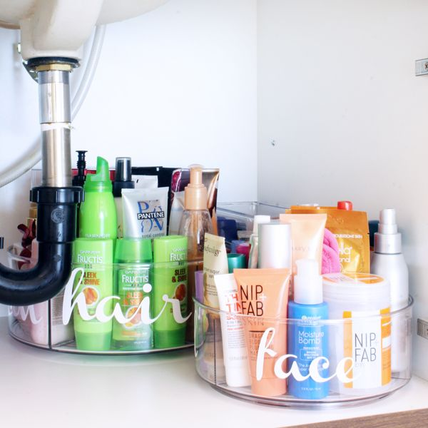 Under Bathroom Sink Organization Ideas