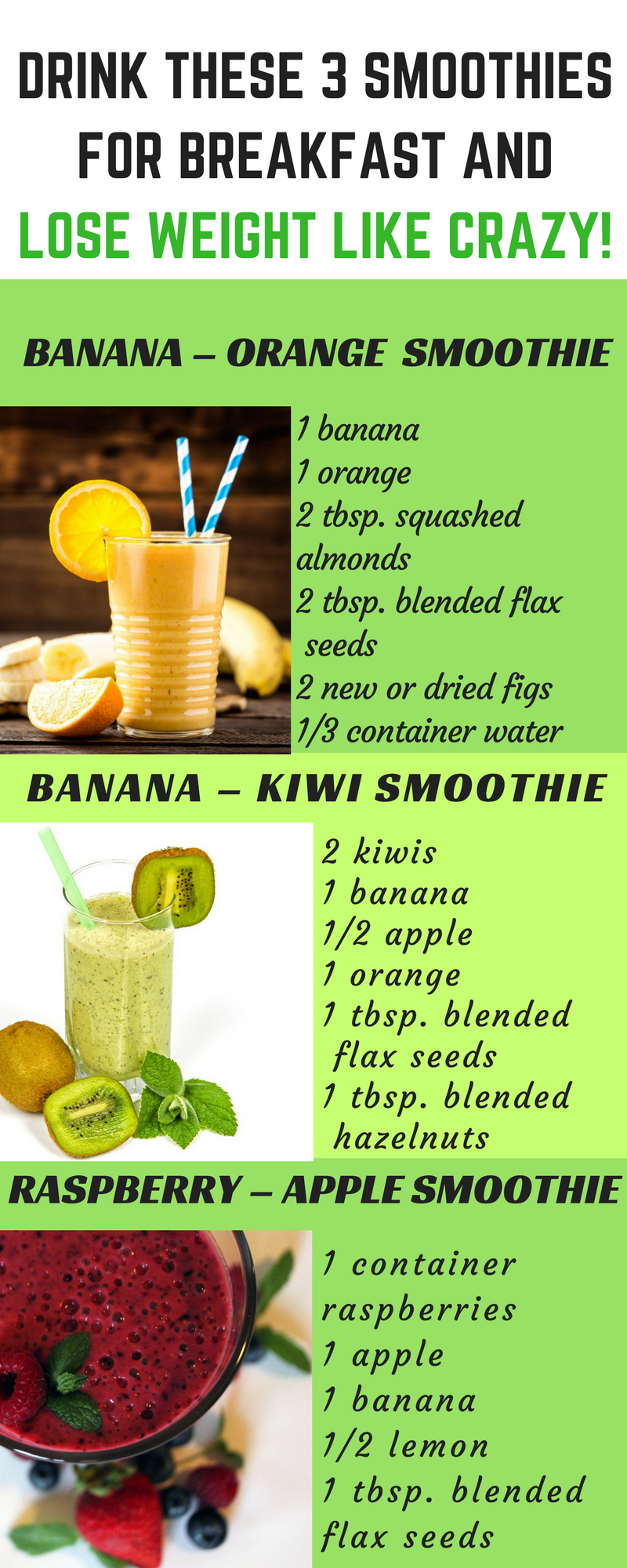 smoothie diet for fat loss