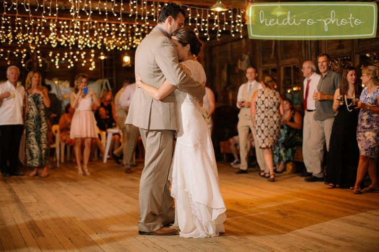 baileys palomar resort palomar mountain wedding barn wedding reception first dance photo