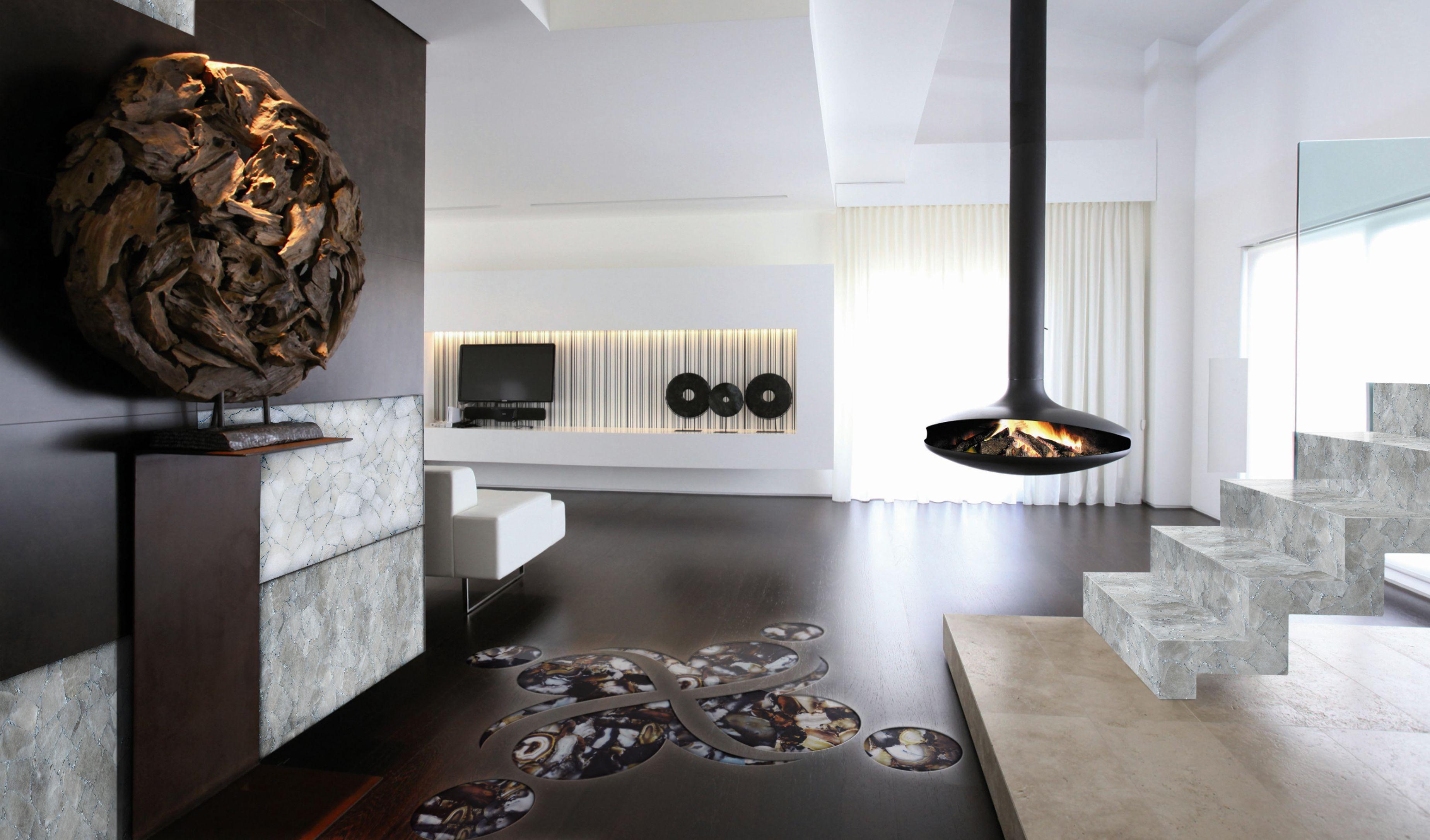 White & Smoky Quartz   Ultimate luxury to your home   Pinterest ...