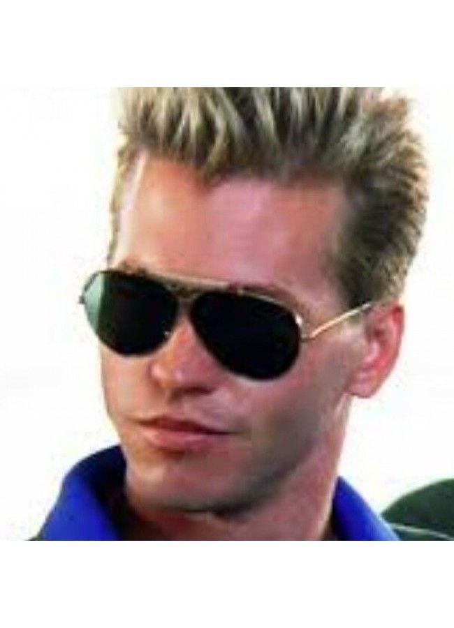 f8e0ef1ff52 Tom Cruise Maverick Top Gun Polarized Aviator Sunglasses