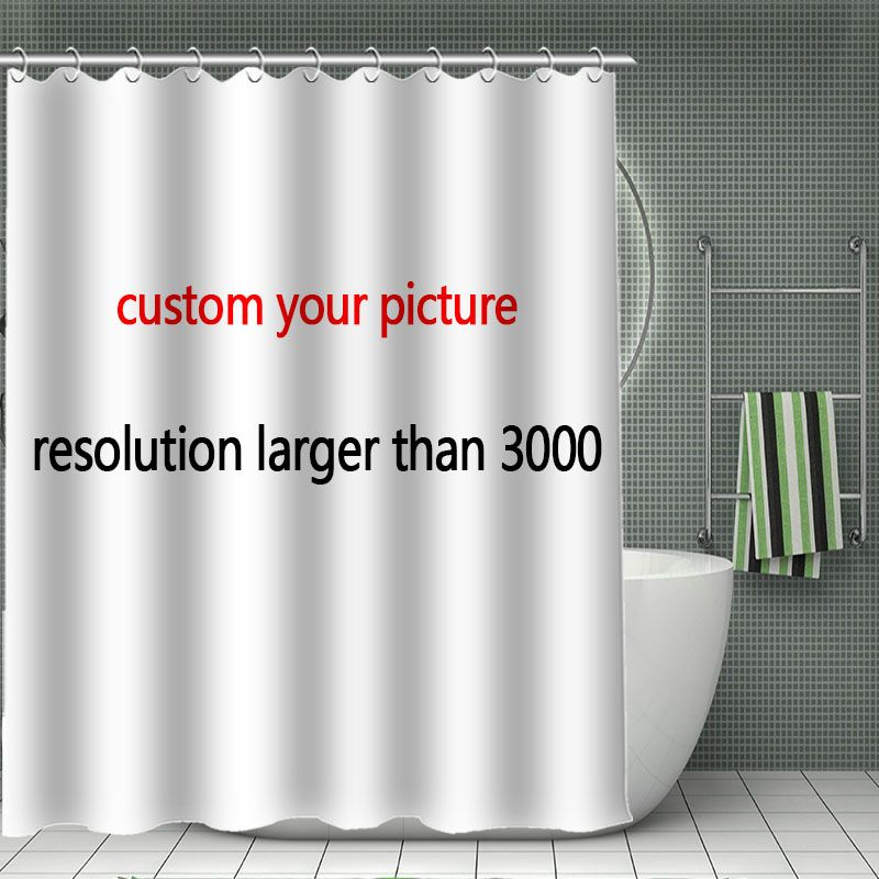 Cheap Polyester Fabric Shower Curtain Buy Quality Bamboo Shower