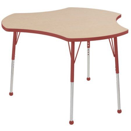 Used ECR4Kids 48 inch Cog Thermo-Fused Adjustable Activity Table