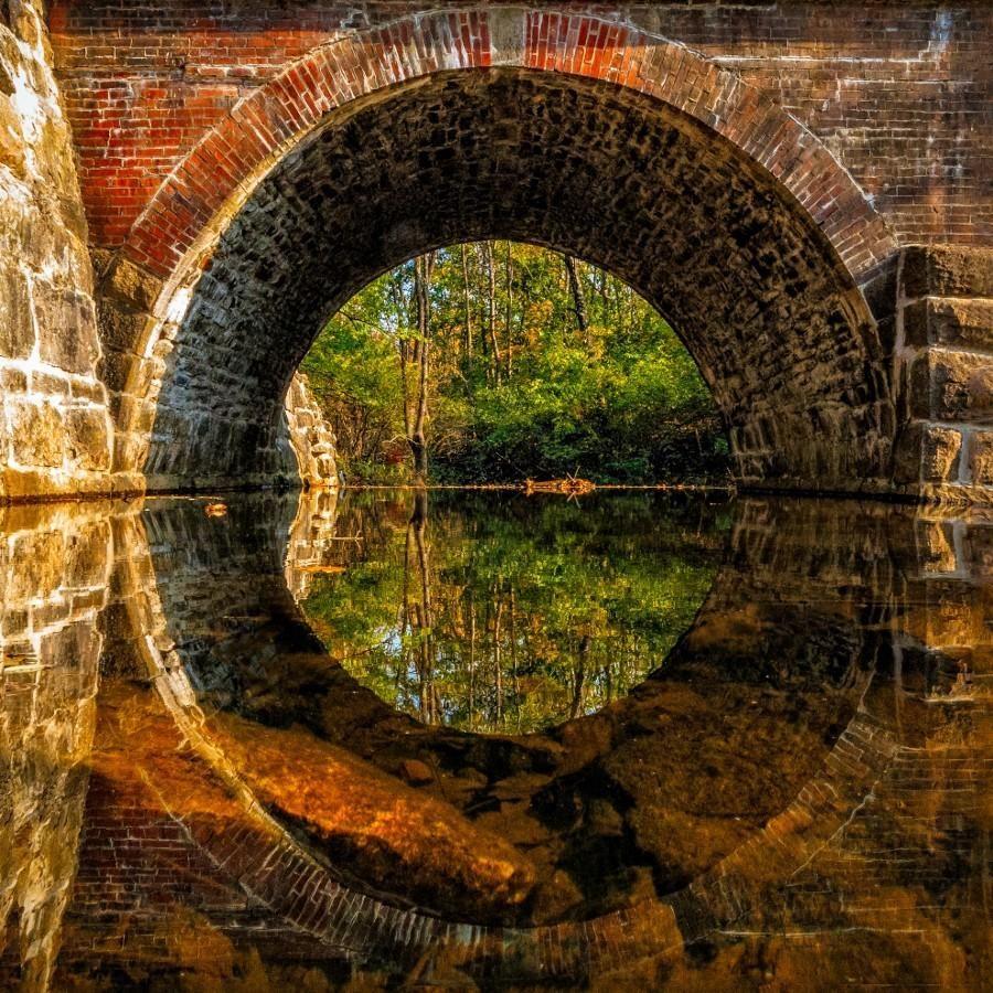 Trestle Reflection by bobbecker4618