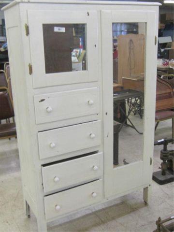 Chifferobe   Vintage armoire, Refurbished furniture ...