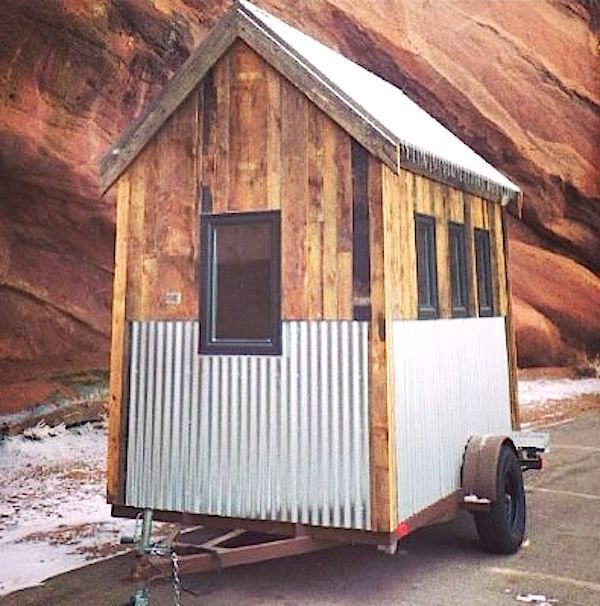 mobile tiny house for sale. Acorn By Nelson Tiny Houses | Corrugated Metal, Metal Roof And House Building Mobile For Sale