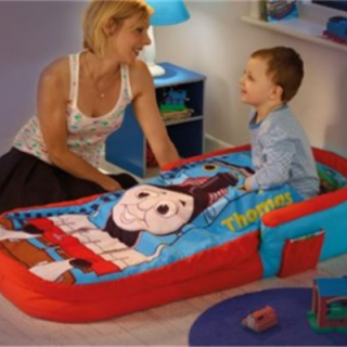 Inflatable Bed with Thomas the Tank Engine Theme  sc 1 st  Pinterest & Inflatable Bed with Thomas the Tank Engine Theme   For Preston ...