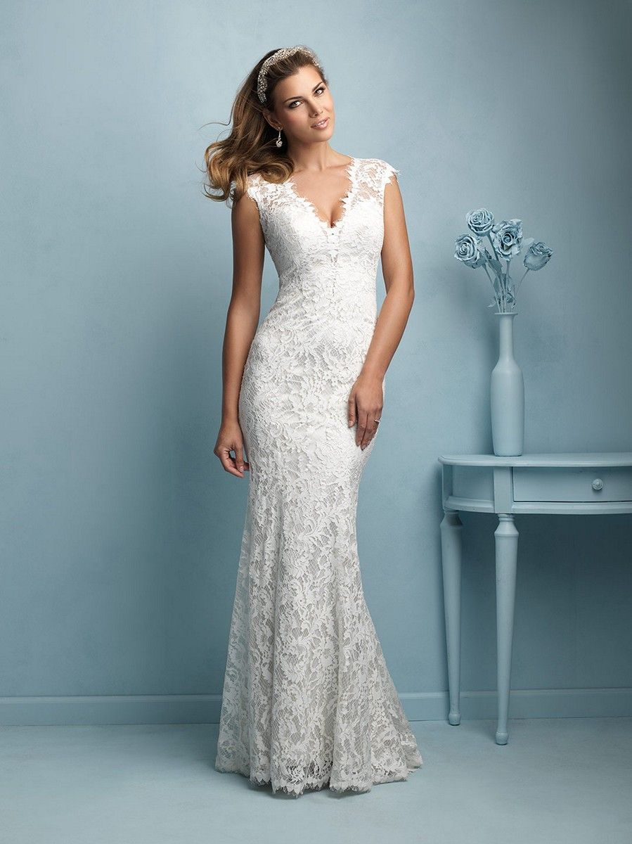 The Allure Bridals 9206 wedding dress is glamorous and alluring for ...