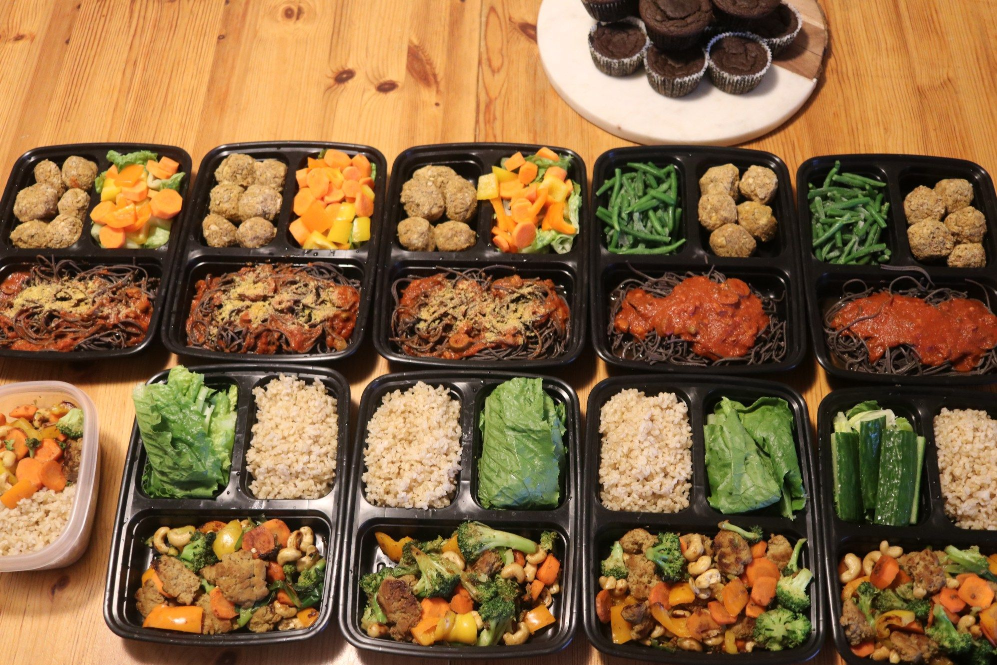 High Protein Vegan Meal Prep For The Week High Protein Vegan Recipes Cheap Vegan Meals Vegan Meal Plans