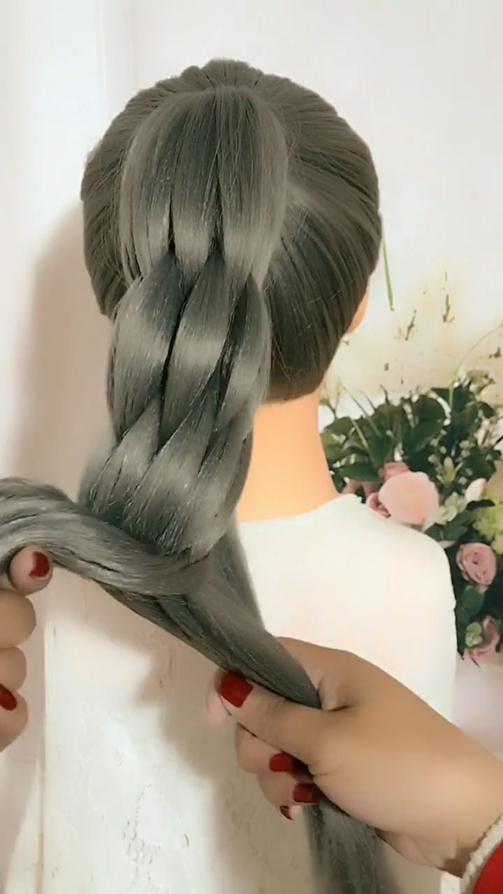 lazy person Braid Hairstyles Tutorial Videos #crotchetbraids