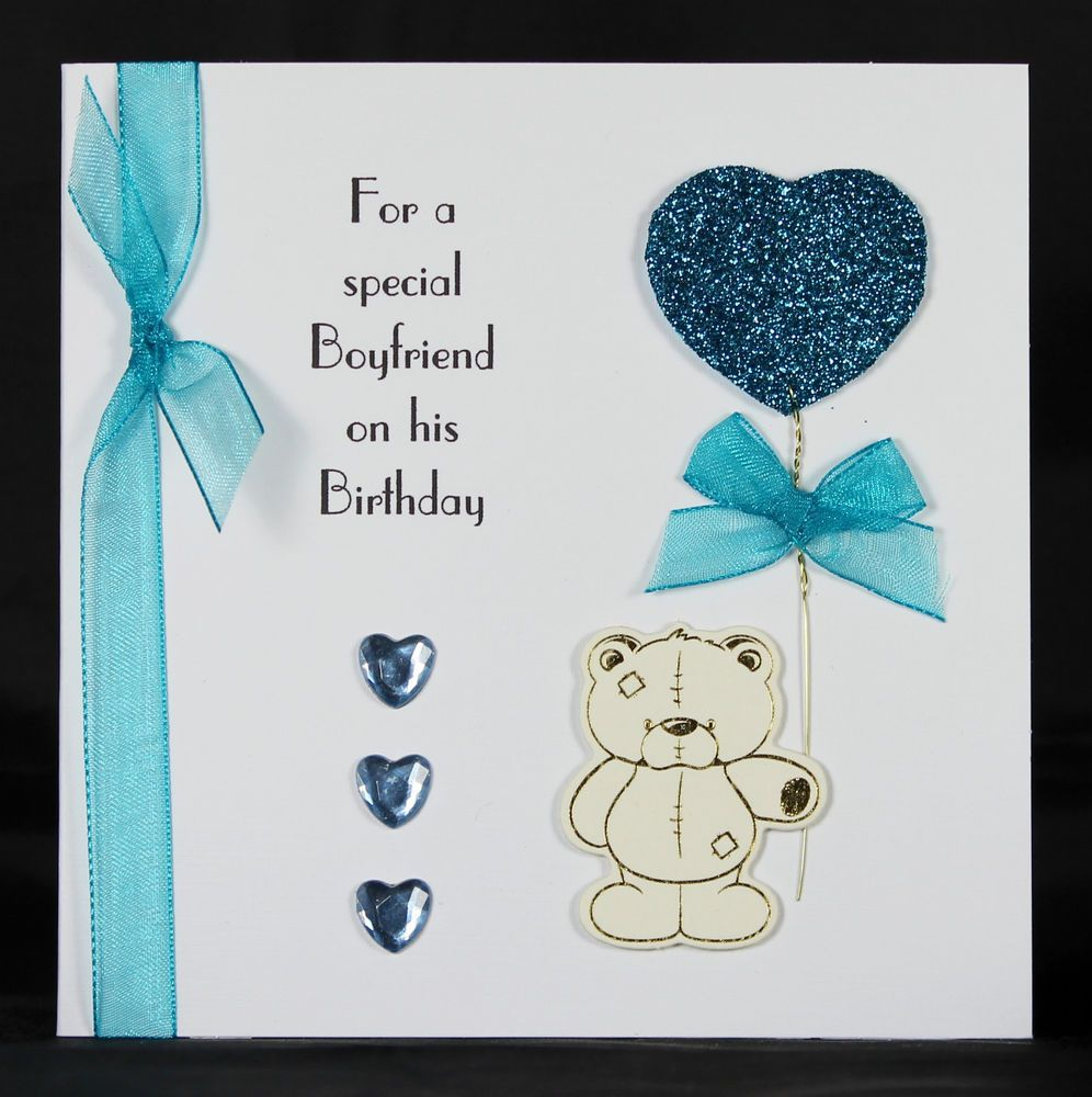 Birthday Card for Him Happy Birthday Handsome Card Boyfriend – Boyfriend Birthday Card