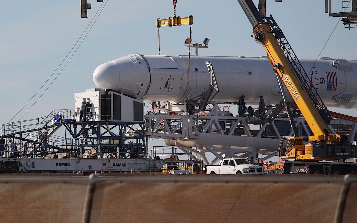 cool Final experiments added to SpaceX spaceship for station resupply flight