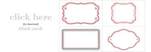 free tag printables  christmas cookie exchange cookie