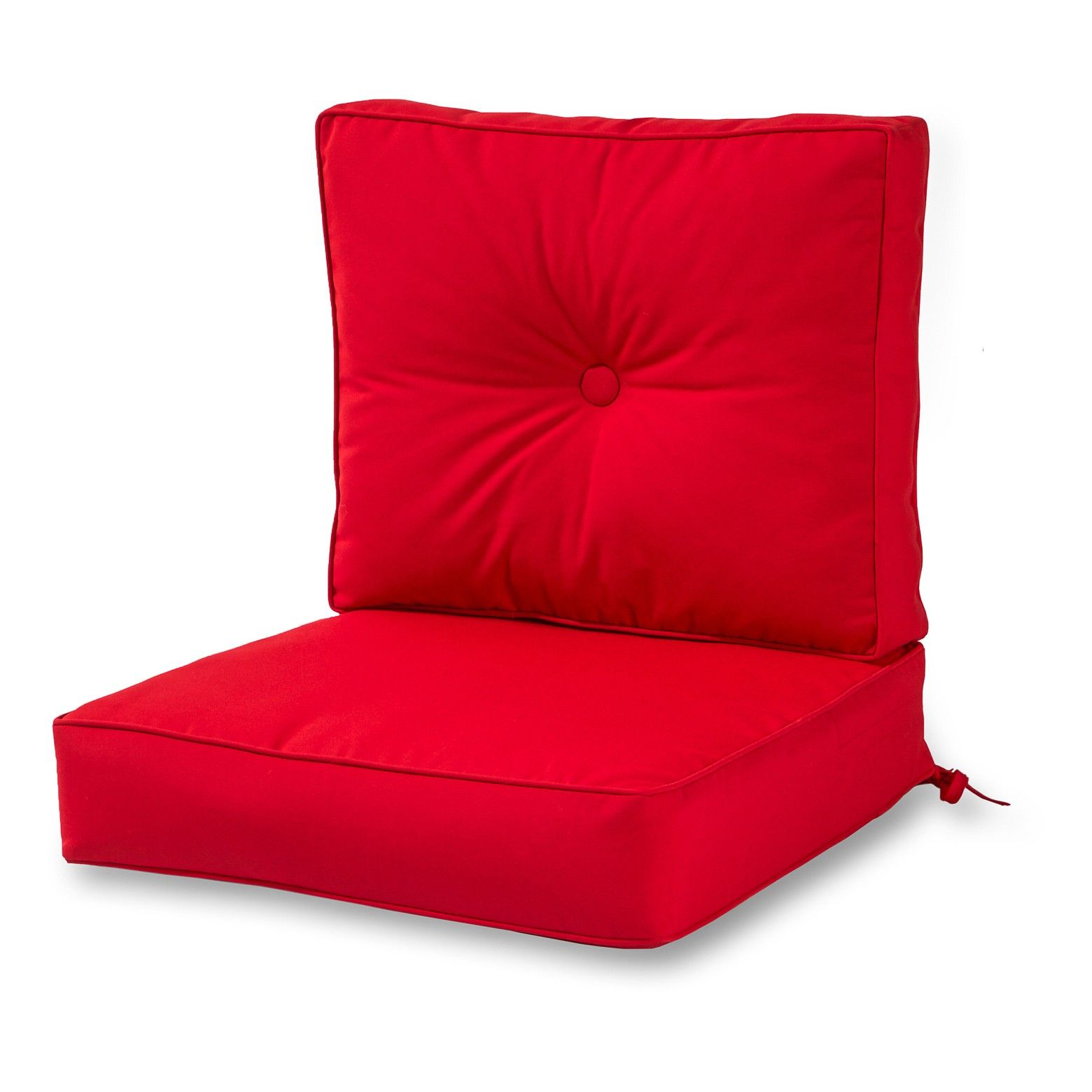 2pc Outdoor Sunbrella Deep Seat Cushion Set Kensington Garden Outdoor Deep Seat Cushions Deep Seat Cushions Outdoor Lounge Chair Cushions
