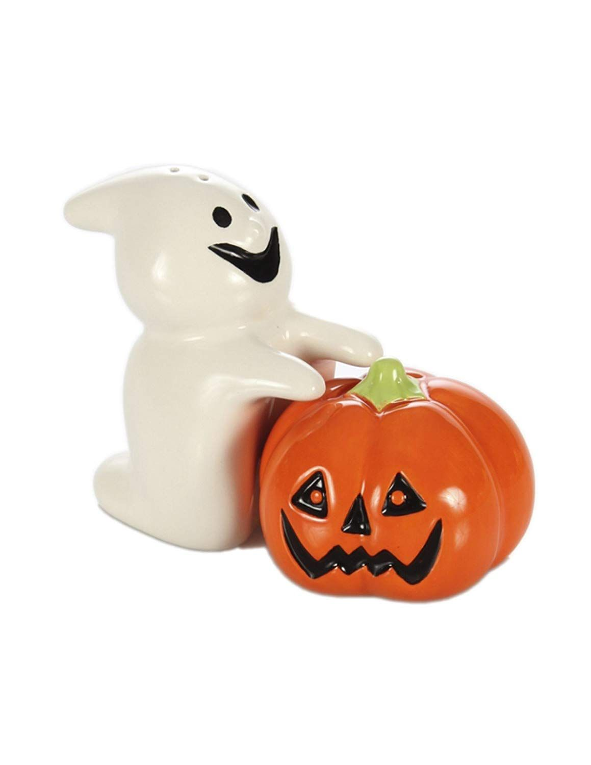 Exceptional #Halloween Decorative Ghost And Pumpkin Salt And Pepper Shaker Set . Fun  And Unique Gift For Her/him On Halloween.