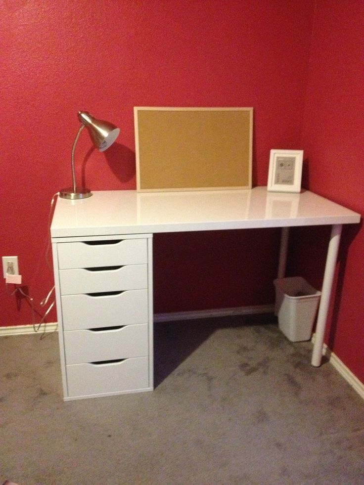 Ikea Desk Linnmonalex Desk Ikea Alex Drawers Desks In 2019