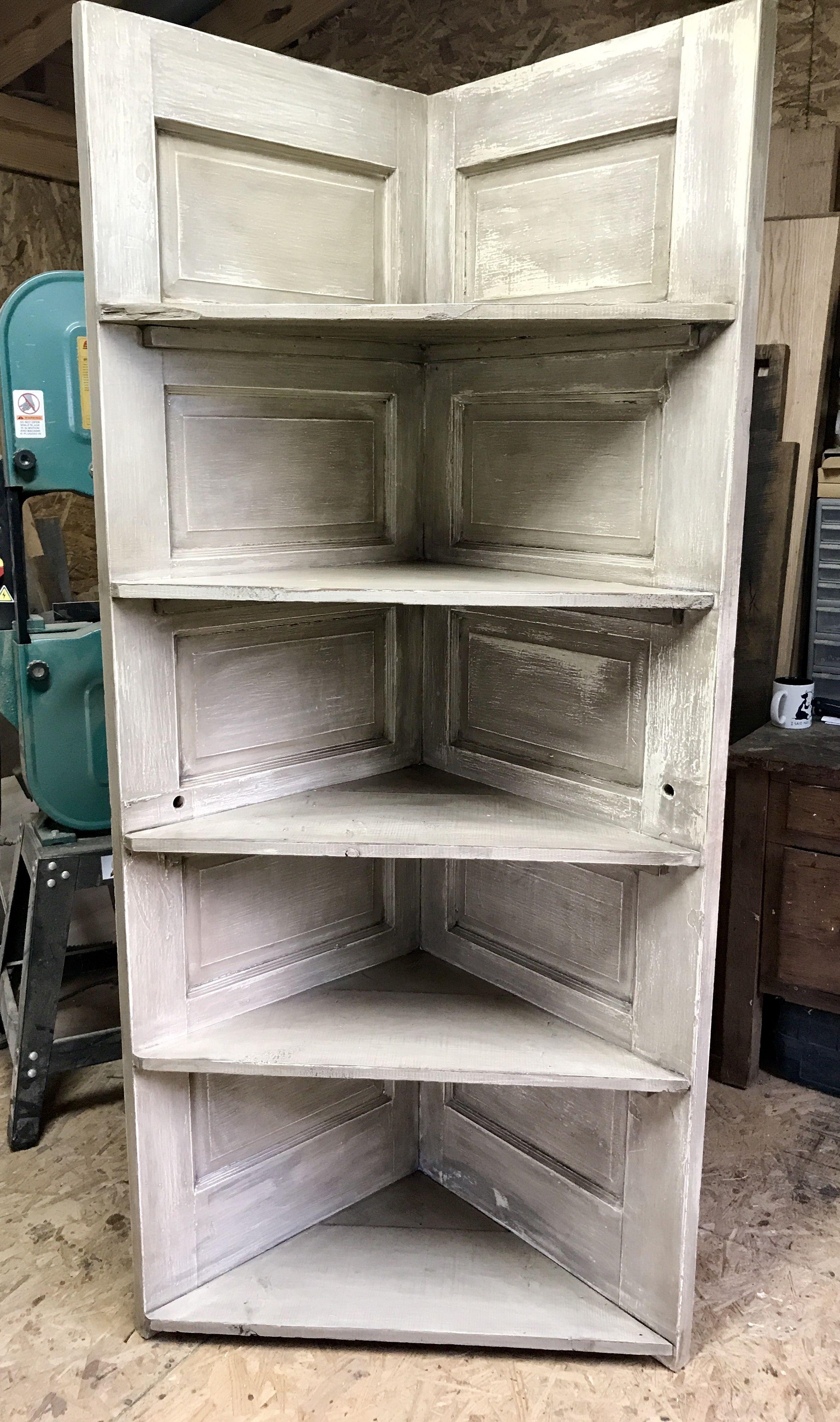 Repurposed Door Corner Shelf Eckregale Diy Tur Alte Tur