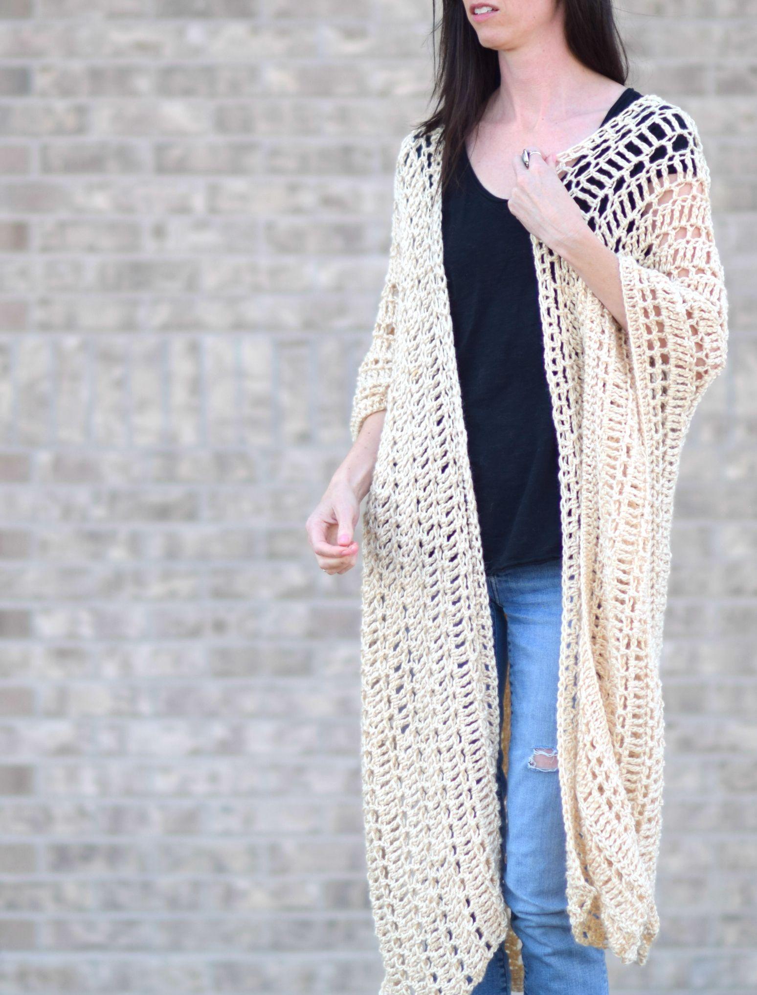 Casablanca Summer Poncho Crochet Pattern | Crochet | Pinterest ...