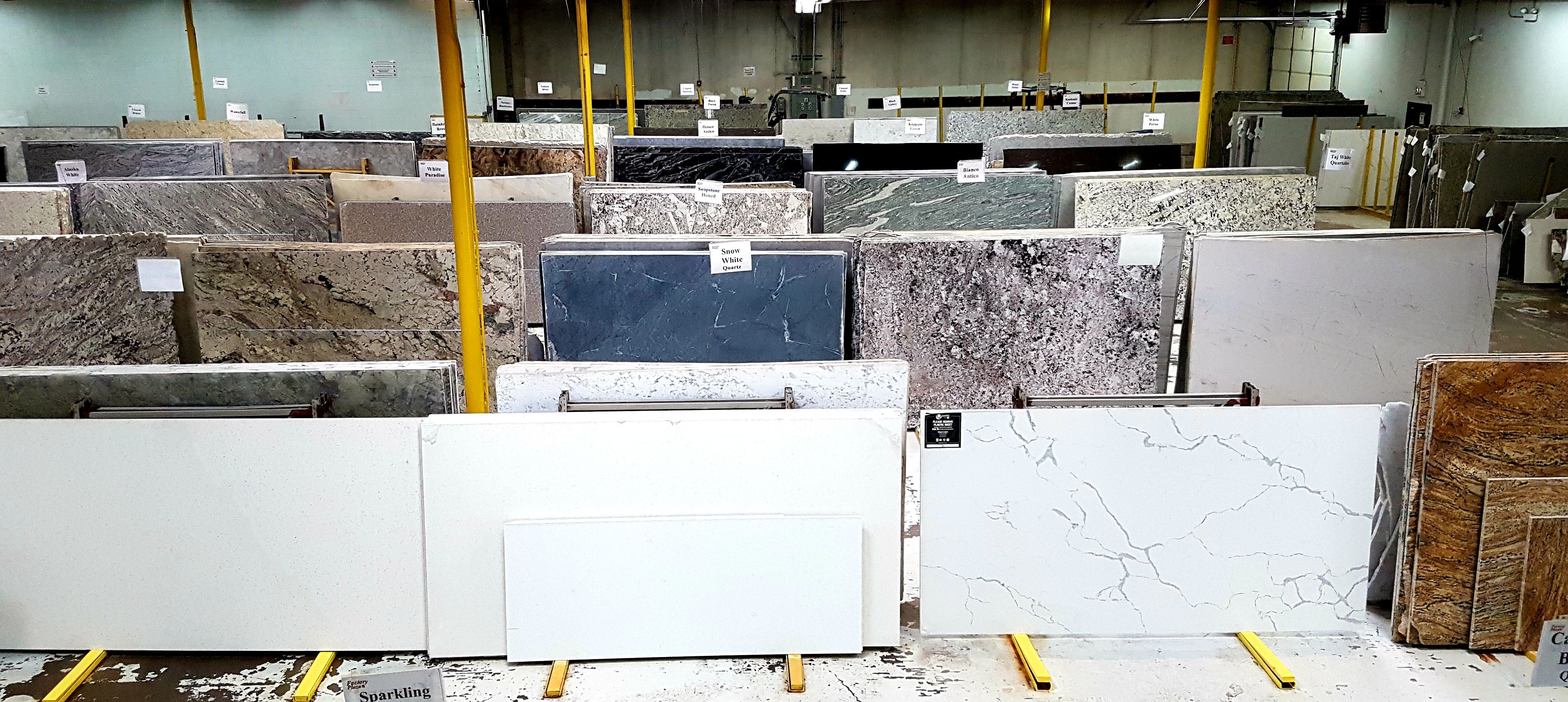We Have Over 1 000 Full Slabs Of Granite Marble Quartz