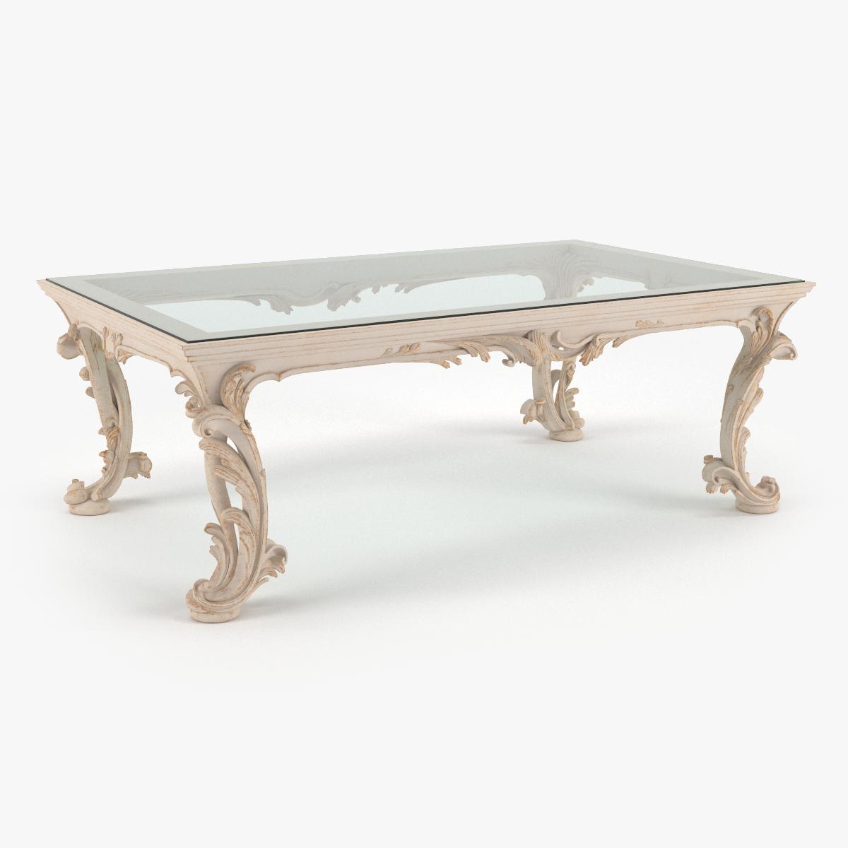 Classic Coffee Table Chelini Art 1064 Ivory 3d Model Luxury Coffee Table Coffee Table Classic Coffee Table [ 1200 x 1200 Pixel ]