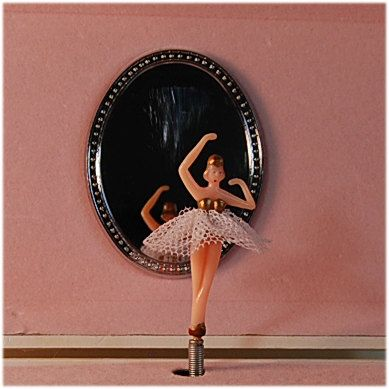 Vintage Ballerina Wind Up Music Jewelry Box By Secondseed On Etsy