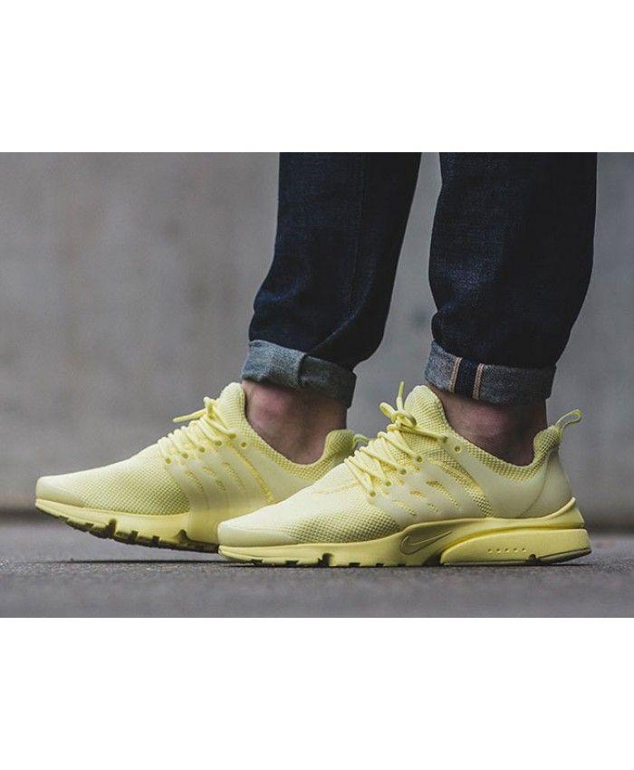 Nike Air Presto Ultra Breeze Lemon Chiffon Trainer | nike