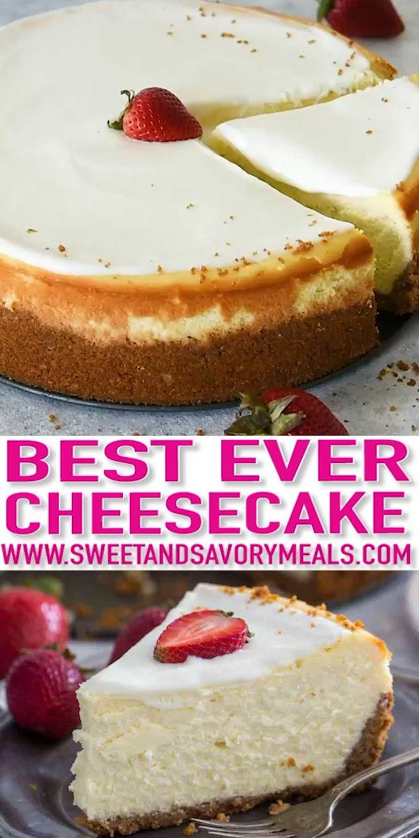 Cheesecake Factory Original Cheesecake Copycat (Vi