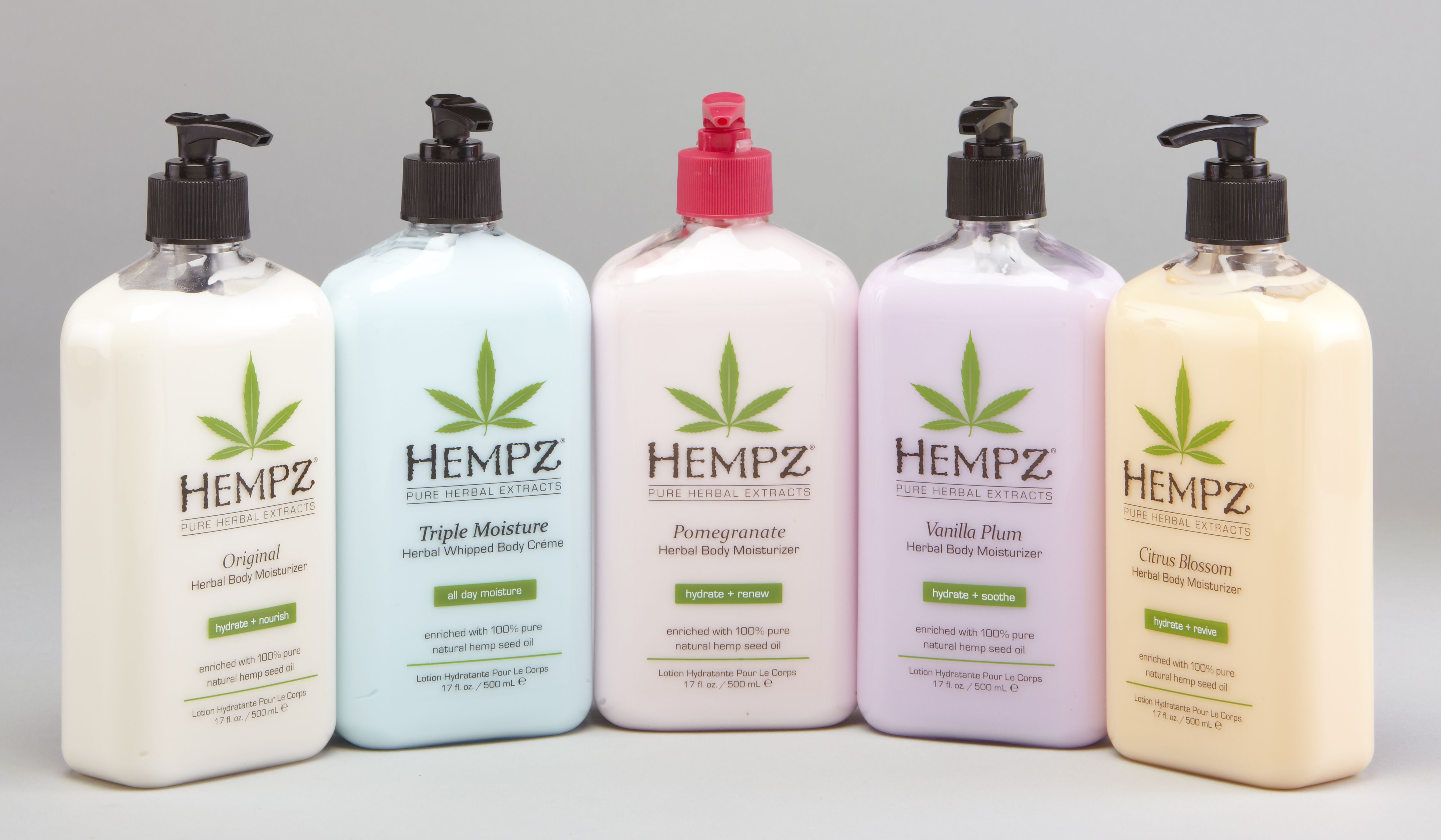 Hempz Pure Herbal Extracts Hand Lotion Find At Any Cost Cutters Hair Salon