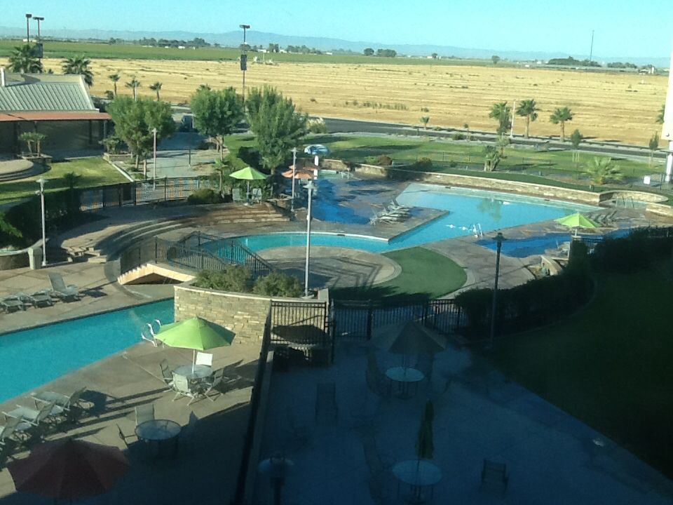 The Unique Pool At Tachi Palace Lemoore California