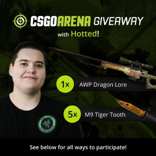 Csgoarena Hotted Giveaway 1 Winner Awp Dragon Lore 5 Sweepstakes Ifttt Reddit Giveaways Freebies Contests Sweepstakes Dragon Tiger Tooth