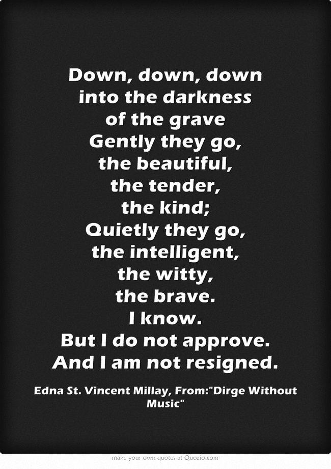 008 Edna St. Vincent Millay Edna st vincent millay, Poems