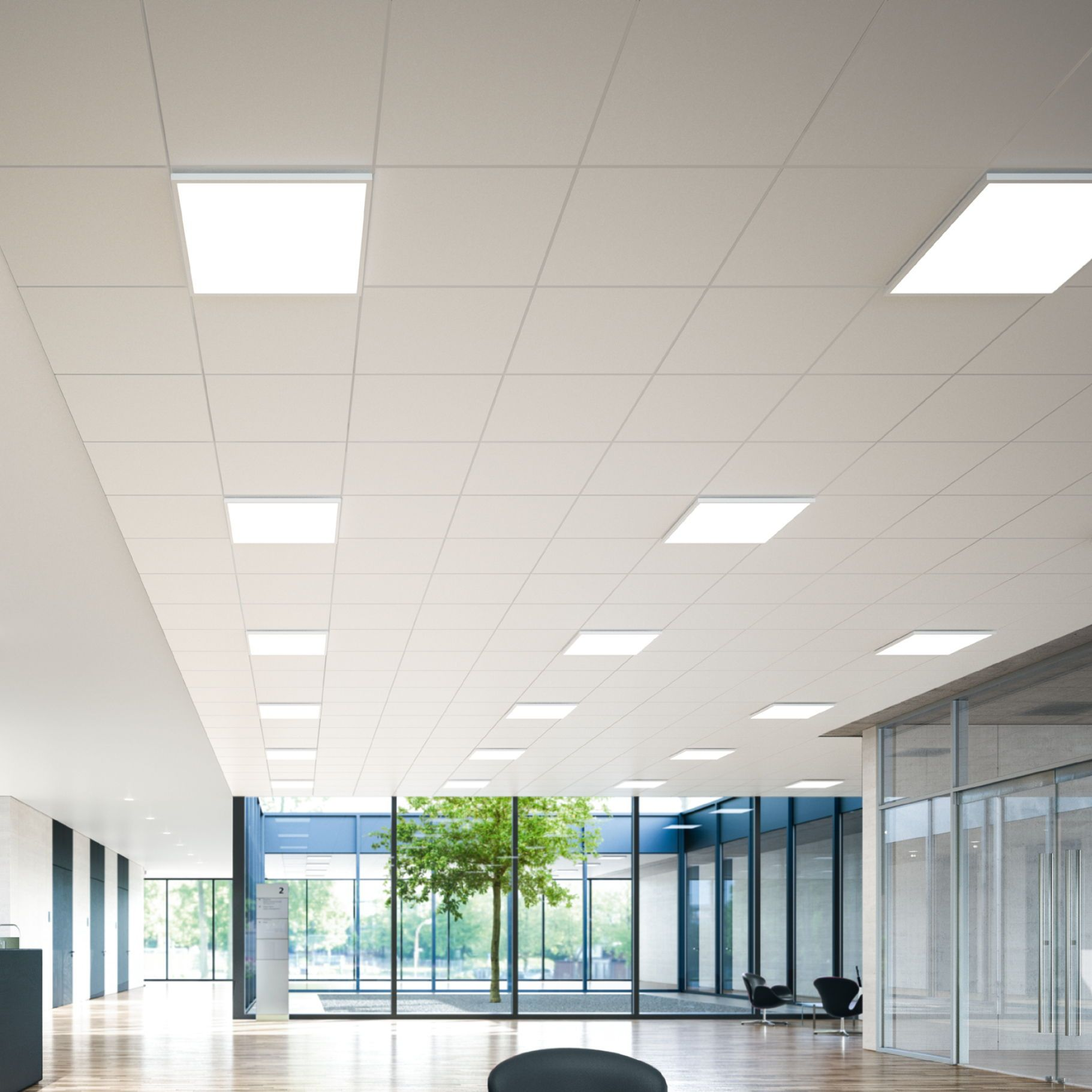 Led Ceiling Luminaires