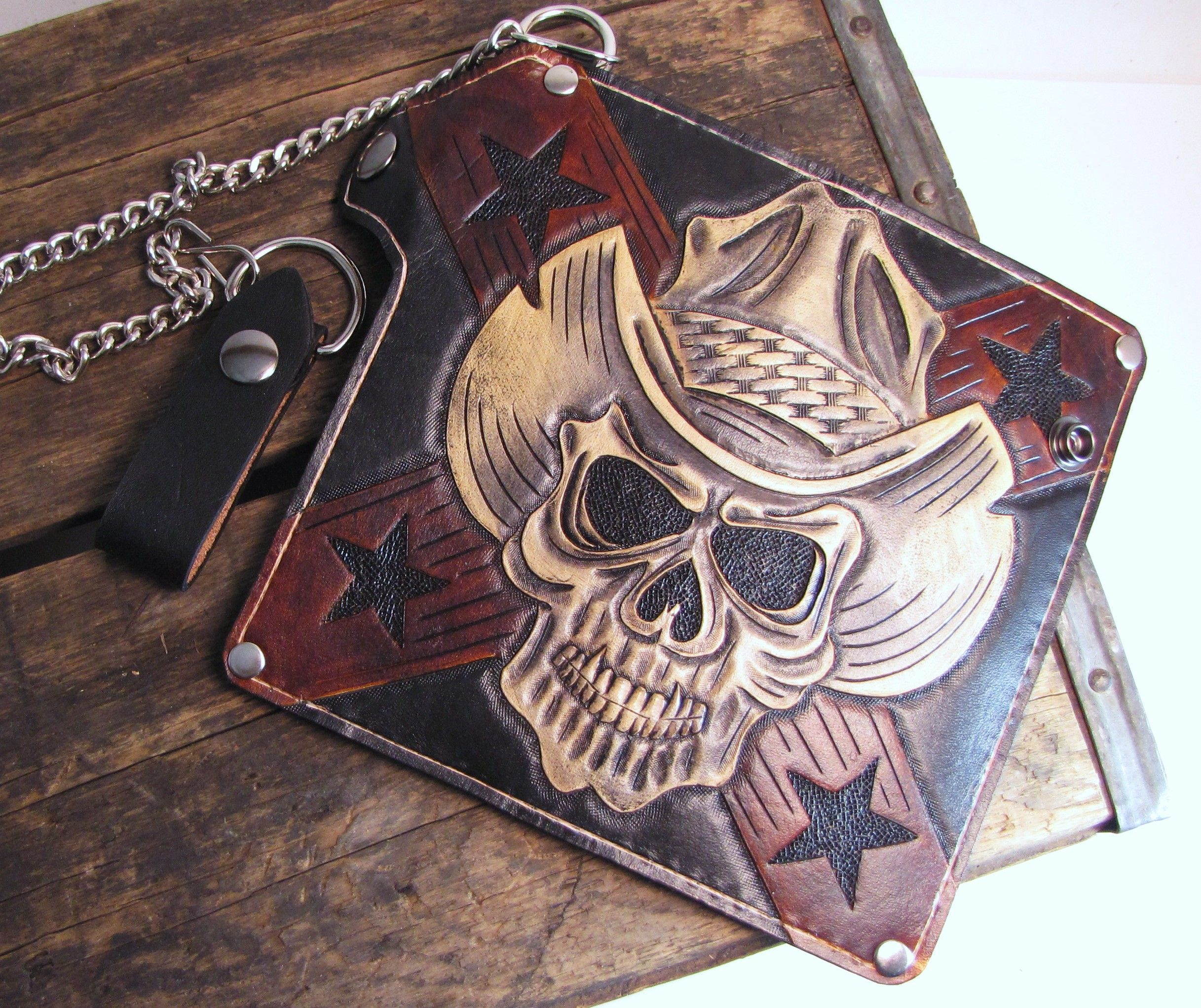 Skull leather tooling patterns google search … pinteres…