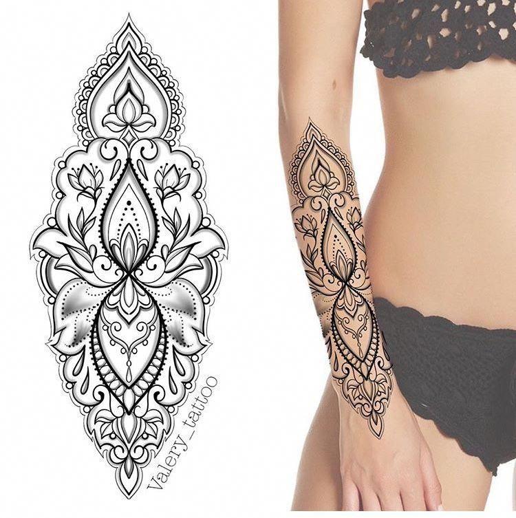 Hand Mandala Tattoo Mandalatattoo Tattoo