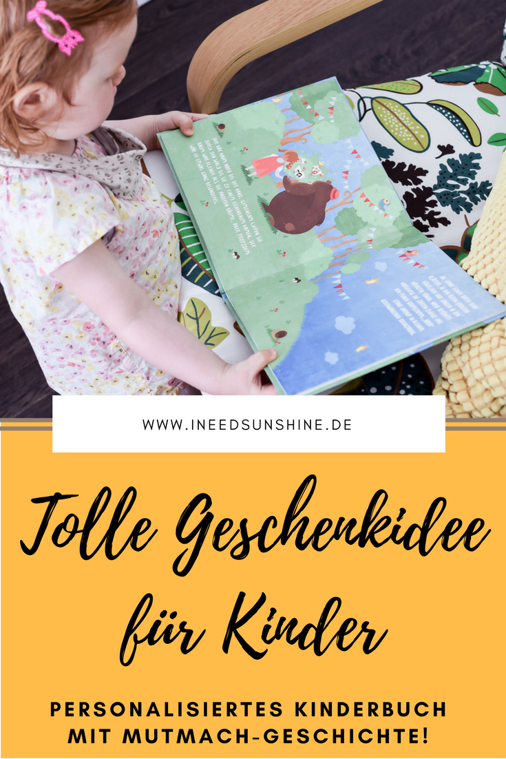 Personalisiertes KINDERBUCH: United Letters \