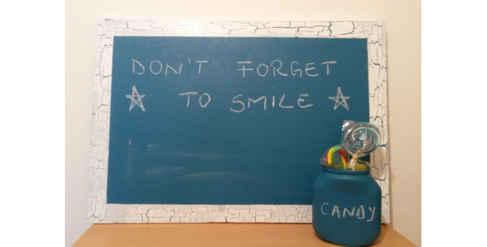 How to do a decorative chalkboard