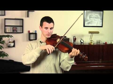 Lesson 2: Violin Beginner Bow Hold and Stroke - Violin Tutor
