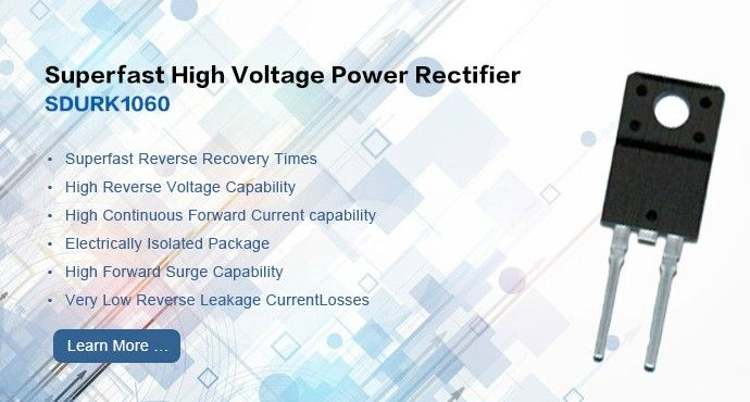 Superfast High Voltage Power Rectifier Sdurk1060 With Images