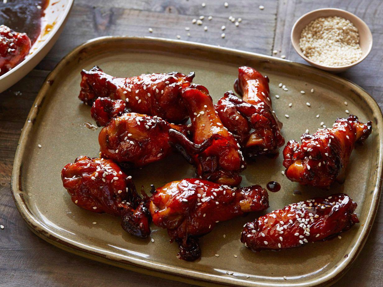 Sticky honey soy chicken wings recipe honey soy chicken wings recipes forumfinder Images