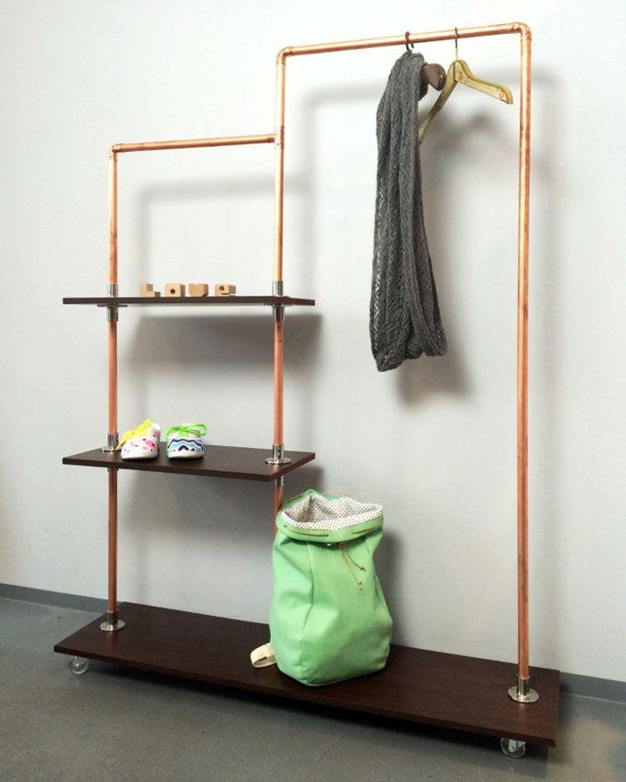 Diy Regal diy regal aus kupfer zum selber bauen diy furniture apartment